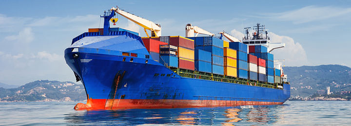 Container shipping cars to New-York