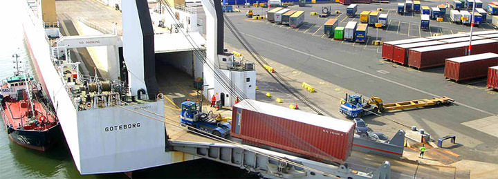 Roll On Roll off shipping to Maputo
